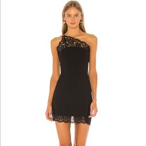 FREE PEOPLE Premonitions Bodycon Dress in Black